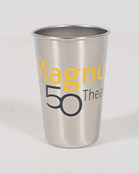 poster for Stainless Steel Pint Glass